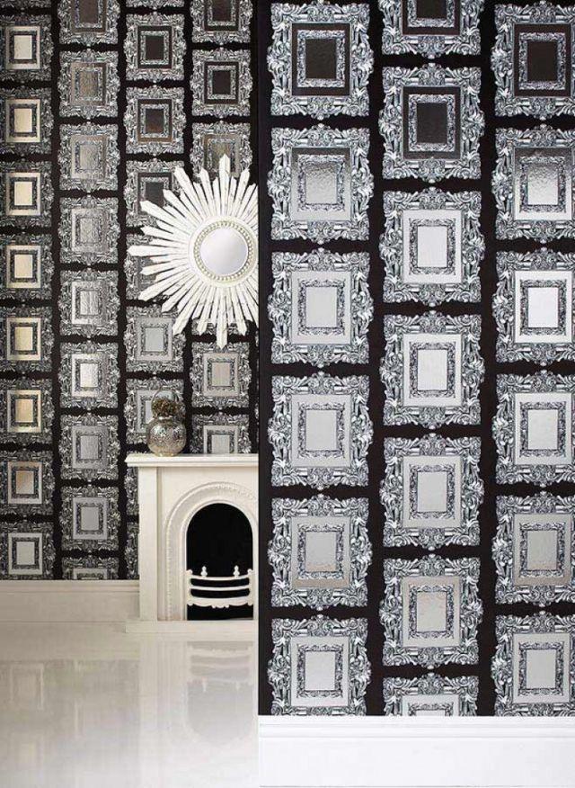 80 Wohnzimmer Tapeten Ideen Coole Moderne Muster Wohnzimmer