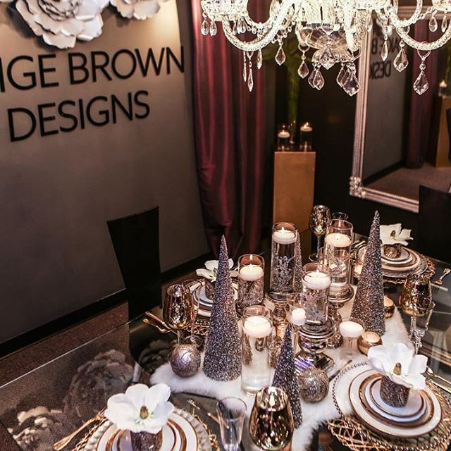 paige brown designs nashville wedding planner and event designer christmas table scape grand