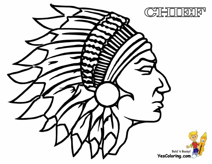 Cute Indian Coloring Book