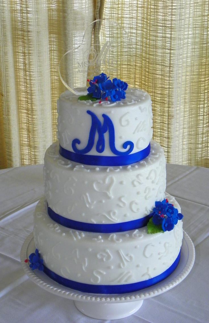 NY Giants wedding Cake