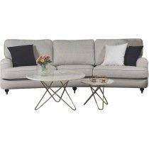 Howard Oxford soffa 3-sits svängd - fler färger
