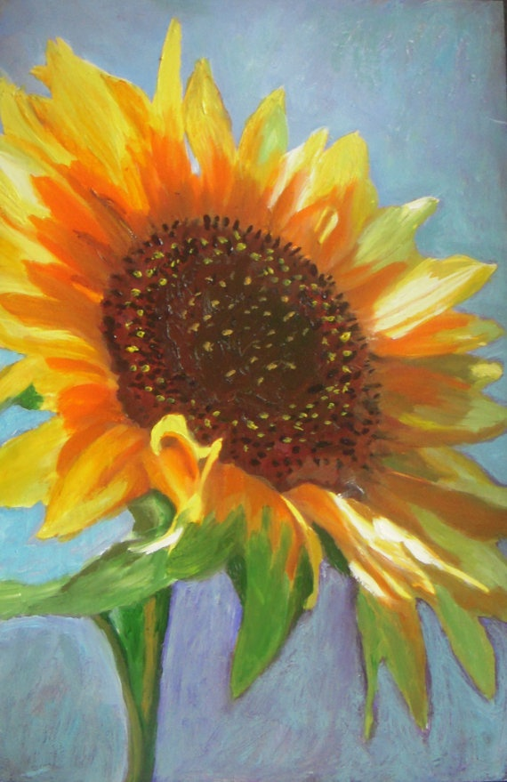 505 Best Pretty Paintings Sunflowers Images On Pinterest