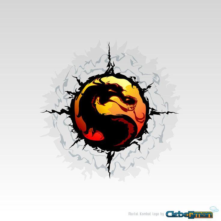 Mortal Kombat 'Tribal' Logo by Kalangozilla.deviantart.com on @deviantART