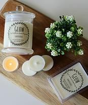 soy candles, vintage