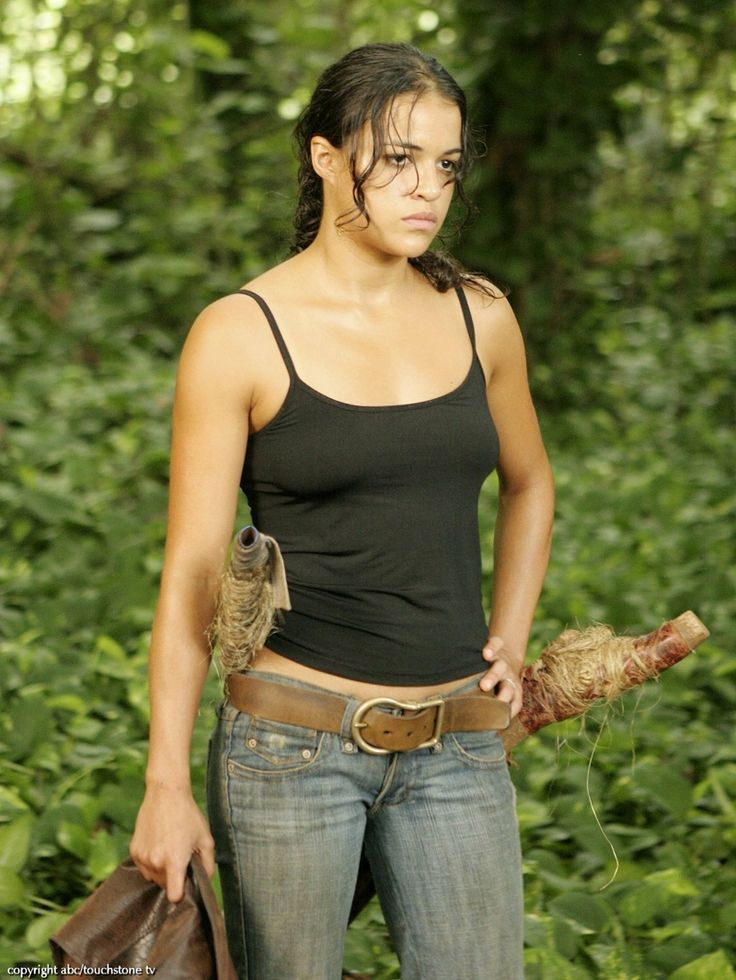 "Michelle Rodriguez in ""Lost"""
