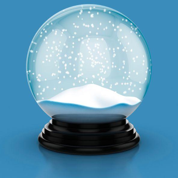 Mejores 42 im genes de bolas de nieve en pinterest bola - Bola nieve cristal ...