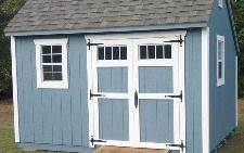 10x12 Saltbox Shed - Capitol Sheds