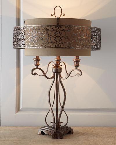 neiman marcus lighting. moroccaninspired lamp by johnrichard collection at neiman marcus lighting