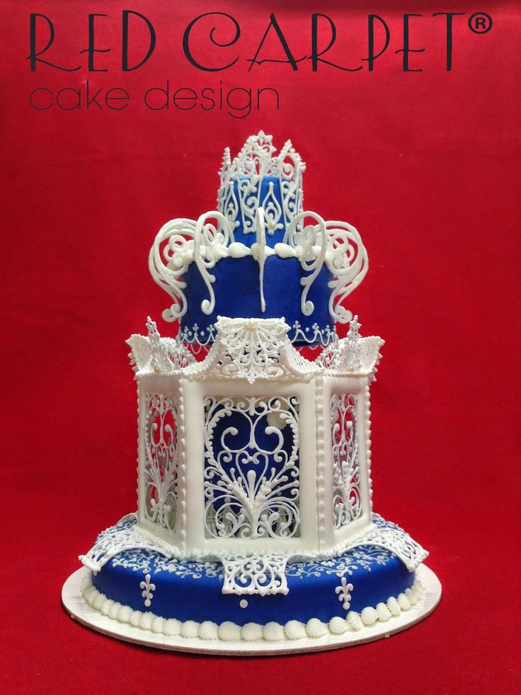 IMPERIAL BLUE CAKE-SIGEP 2015-by RED CARPET CAKE DESIGN®