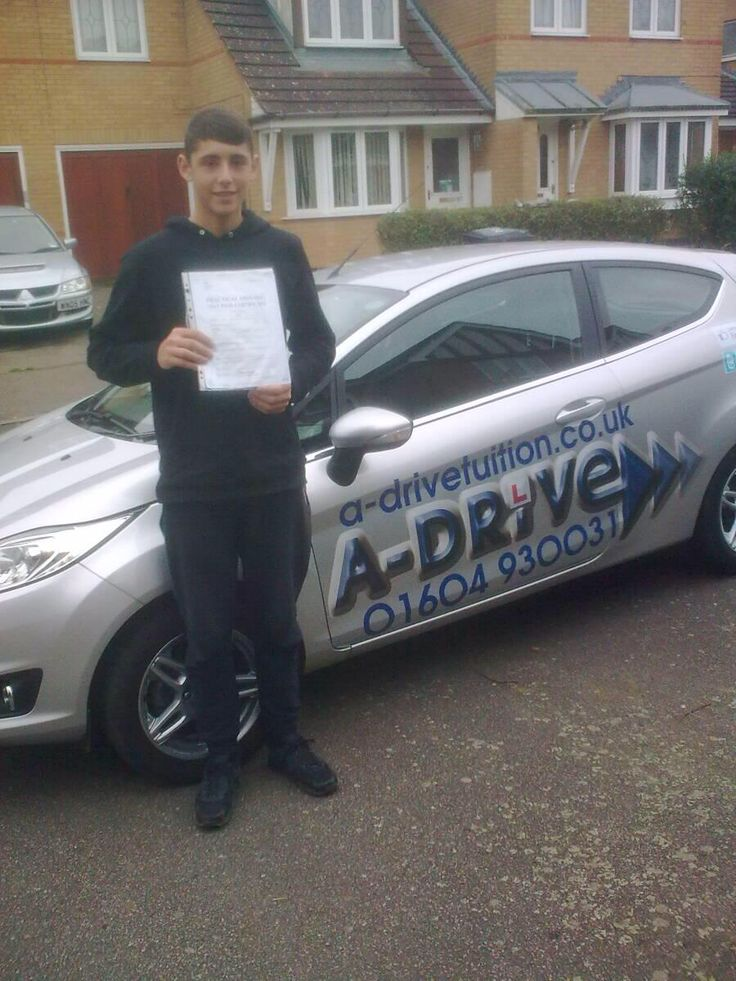 "Congratulations to Kier Lawrence-Pattle who passed his practical driving test 1st time 24/11/14 with only 2 minor driving faults at Northampton Driving Test Centre with Geoff French of www.adrivetuition.co.uk  01604 930031  #Driving #Adrive #DrivingTest #DrivingSchools #DrivingLessons #DrivingInstructors #Northampton #Daventry #Towcester #Wellingborough #Northants  Kier said ""Geoff was good to work with and helpful. I enjoyed learning to drive, especially passing my test, thanks Geoff"""