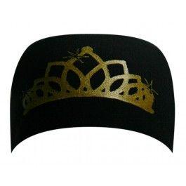 Bondi Band - black tiara gold - Hoofdbanden - Accessoires