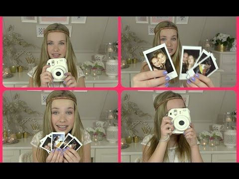 Polaroid Instax Mini 8 Camera Review & DIY - YouTube