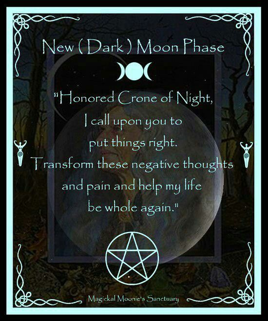 New Moon Tonight and time to cast of that which is holding you back