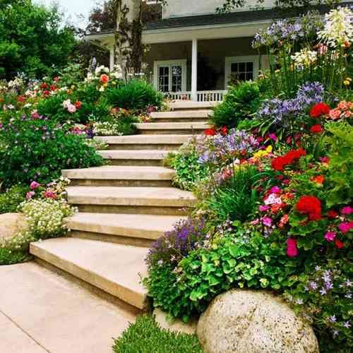 26 best Escalier images on Pinterest Stairs, Decks and Sloped backyard