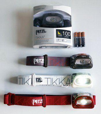Eine Stirnlampe ist beim Arbeiten eine echt praktische Sache. Wir haben die Tikka von Petzl ausprobiert ...