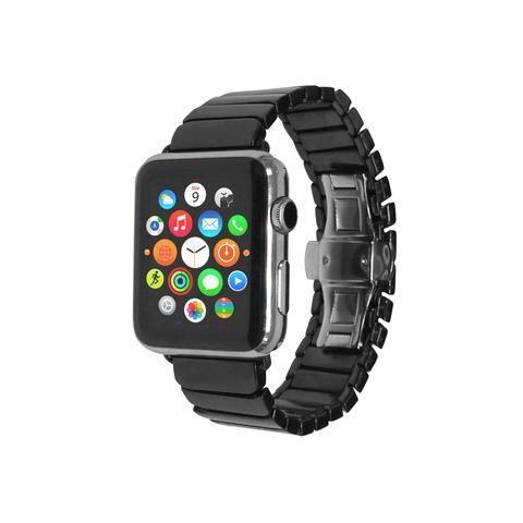 Apple Watch sport edition 38 42 mm Black Ceramic Links Bracelet Watch Band Strap