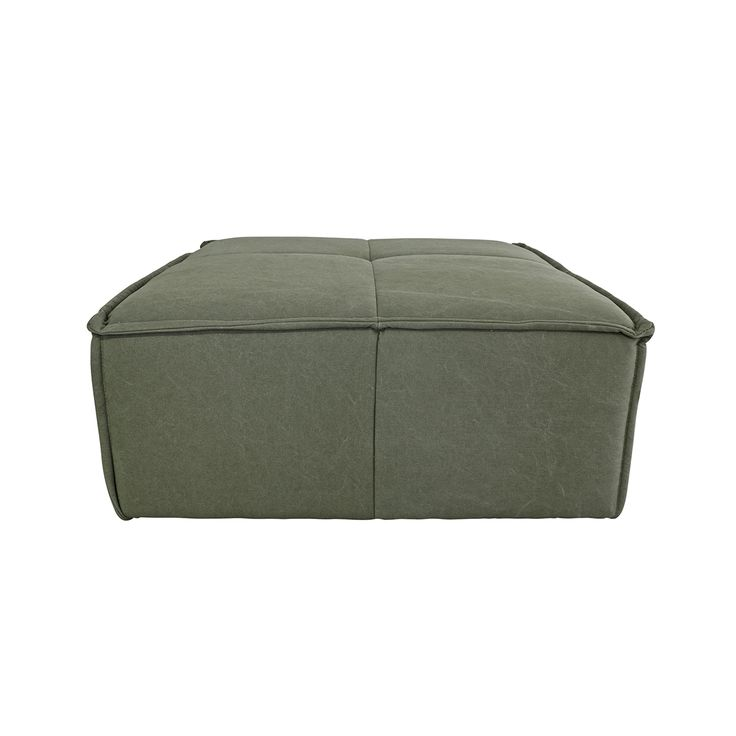Army Green Ottoman • WOO Design