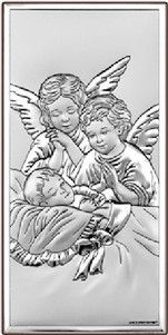 Obrazek Aniołowie Stróże Pamiątka chrztu- (BC#6468) Pasaż Handlowy CDATA