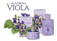 Bagnoschiuma - Accordo Viola - L'Erbolario