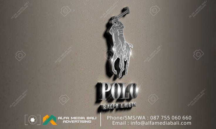 Huruf timbul stainless steel di bali | Alfa Media Bali