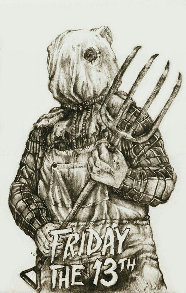 FRIDAY THE 13TH PART II (With images) | Horror movie art