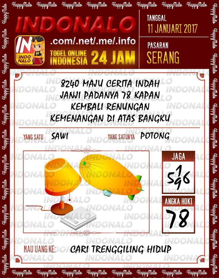 Kode Kumat 3D Togel Wap Online Live Draw 4D Indonalo Serang 11 Januari 2017