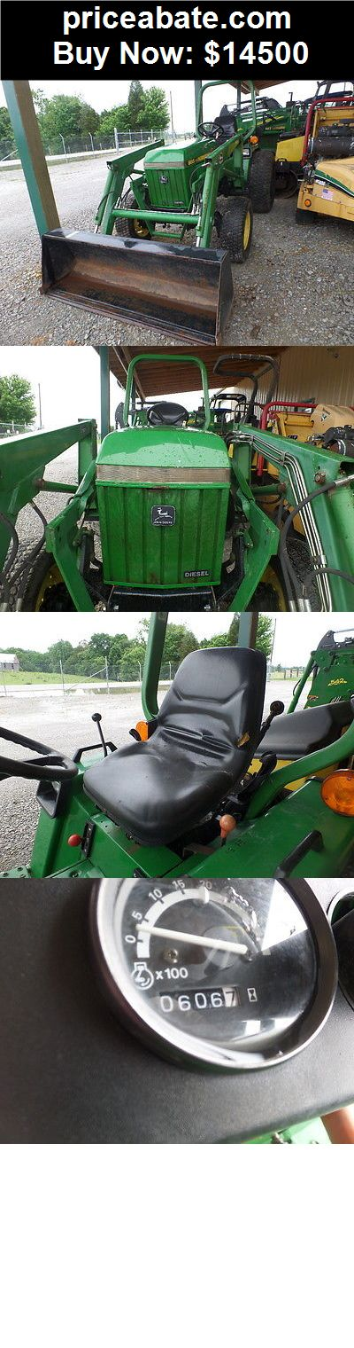 Heavy-Equipments: JOHN DEERE 955 COMPACT 4WD TRACTOR 606HRS LDR VERY NICE! - BUY IT NOW ONLY $14500