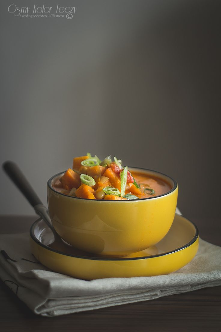 Sweet potato and bean vegetarian curry