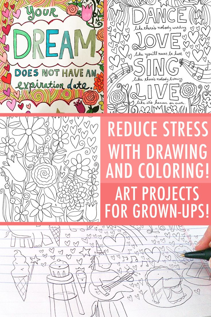 Swear word coloring book sarah bigwood - Stress Relief Coloring Book Pages For Grown Ups