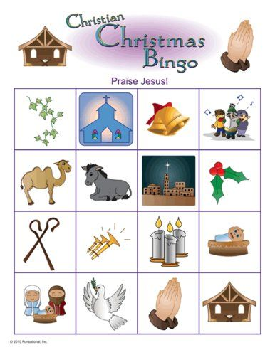 Christian Christmas Picture Bingo                                                                                                                                                                                 More