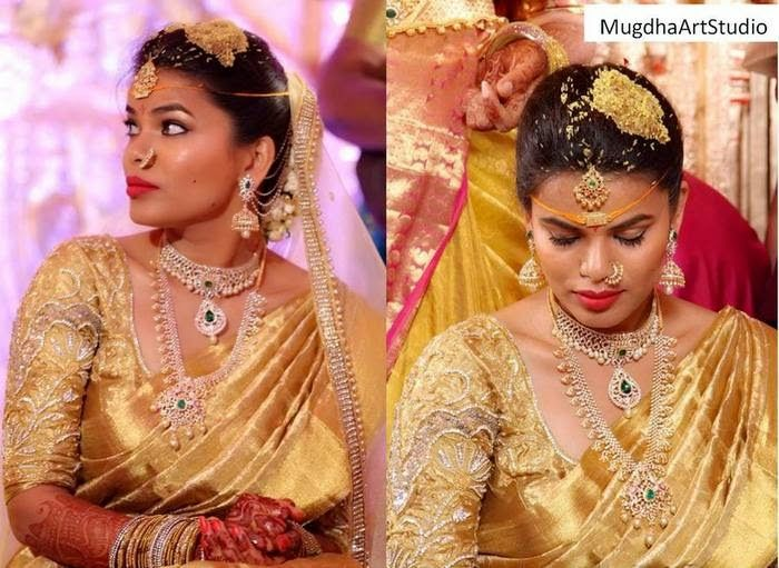 Jewellery Designs: Charmin Bride in  Opulent Jewelry