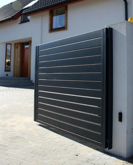 Modern House Entrance Front Entry