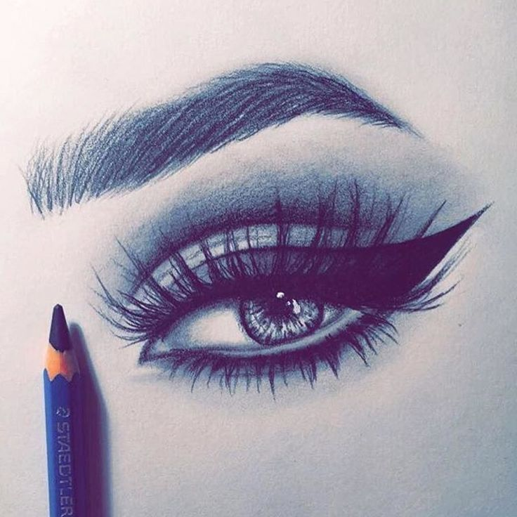 Eyelash Drawing Pictures to Pin on Pinterest - PinsDaddy
