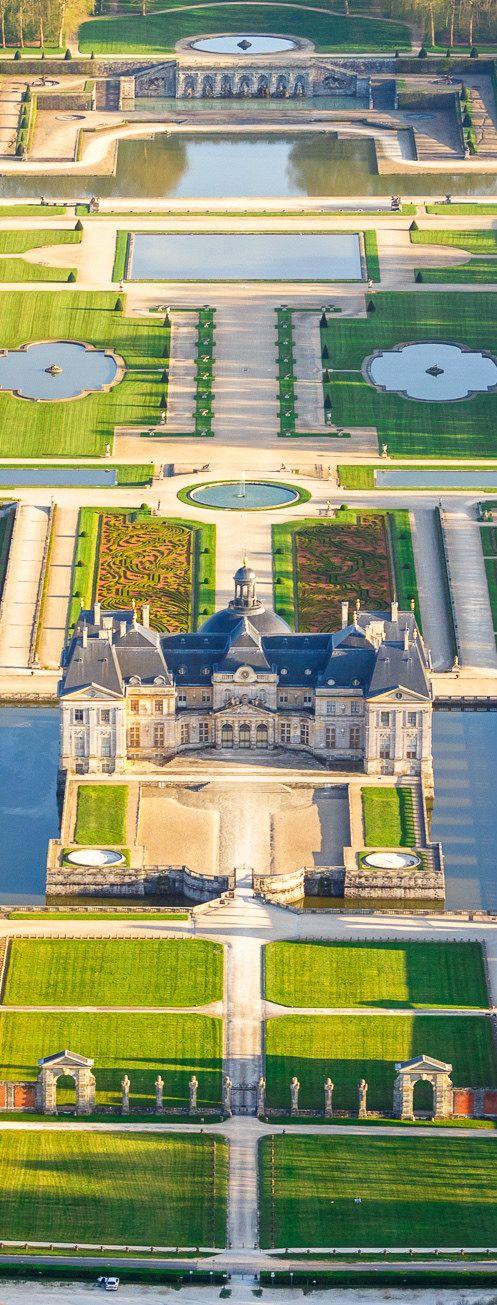 Château de Vaux-le-Vicomte. Ile-de-France