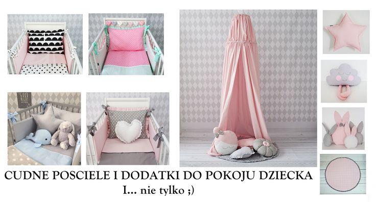 Pościel  -  poduszki - łóżeczka :) Zapraszamy mamaania.com.pl