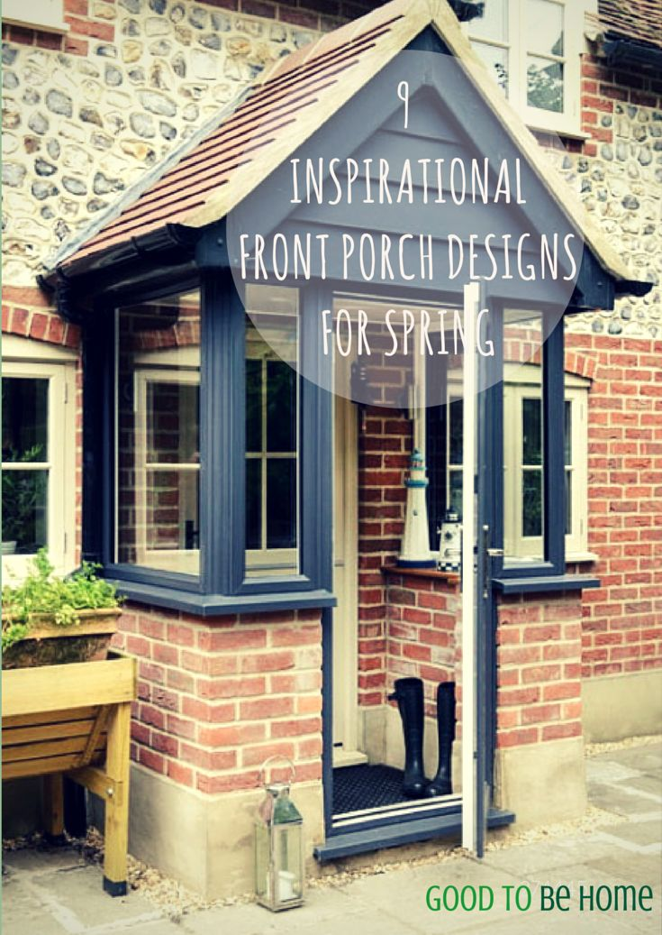 Go to www.anglian.co.uk/goodtobehome for porch designs which will inspire you this spring