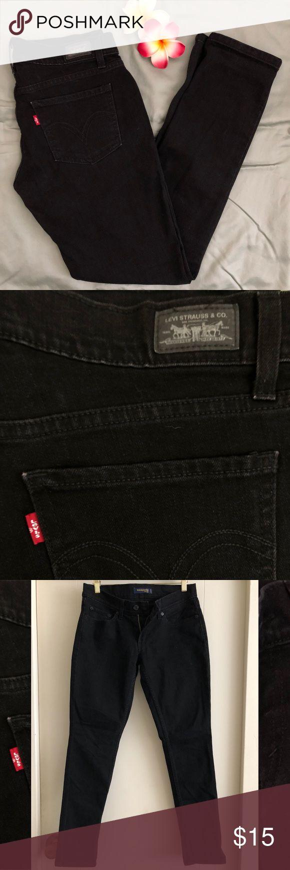 Skinny Black Too Super Low Levi's Women's Skinny Black Too Super Low Levi's jeans. Size 7. Low cut jeans. Open to offers. Levi's Jeans Skinny