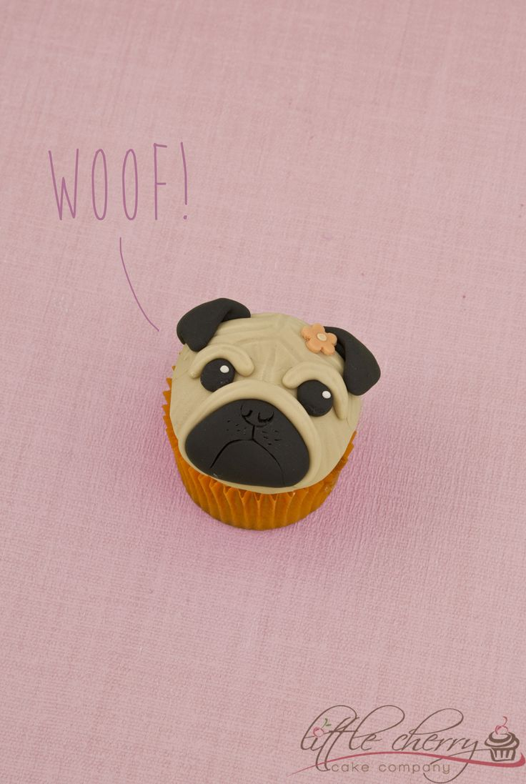 Pug Cupcake on Cake Central
