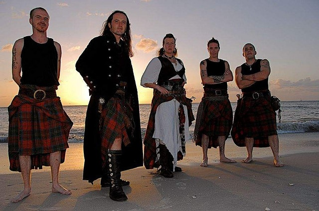 Albannach- Straight from Scotland an incredibly powerful Tribal Pipe and Drum Band.