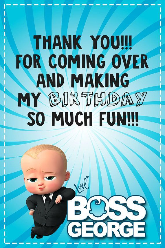 Image Result For Boss Baby Party Baby Birthday Party Boy Boss Baby