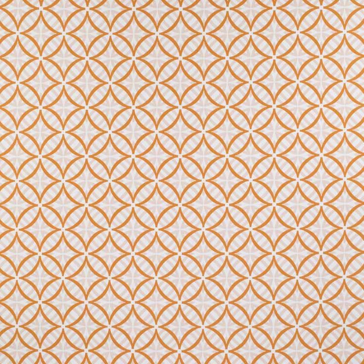 Warwick Fabrics : COOLUM, Colour MELON