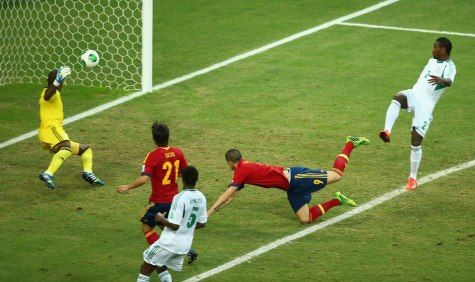 23.06.2013 Confederation Cup	 Nigeria - Spain	 Prediction: Both teams score	 Odds: 2.00	 Result: 0-3  Wrong prediction!  http://www.efootballtips.com/