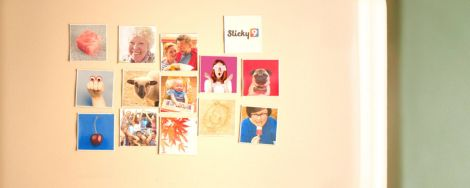 Sticky9 photo magnets