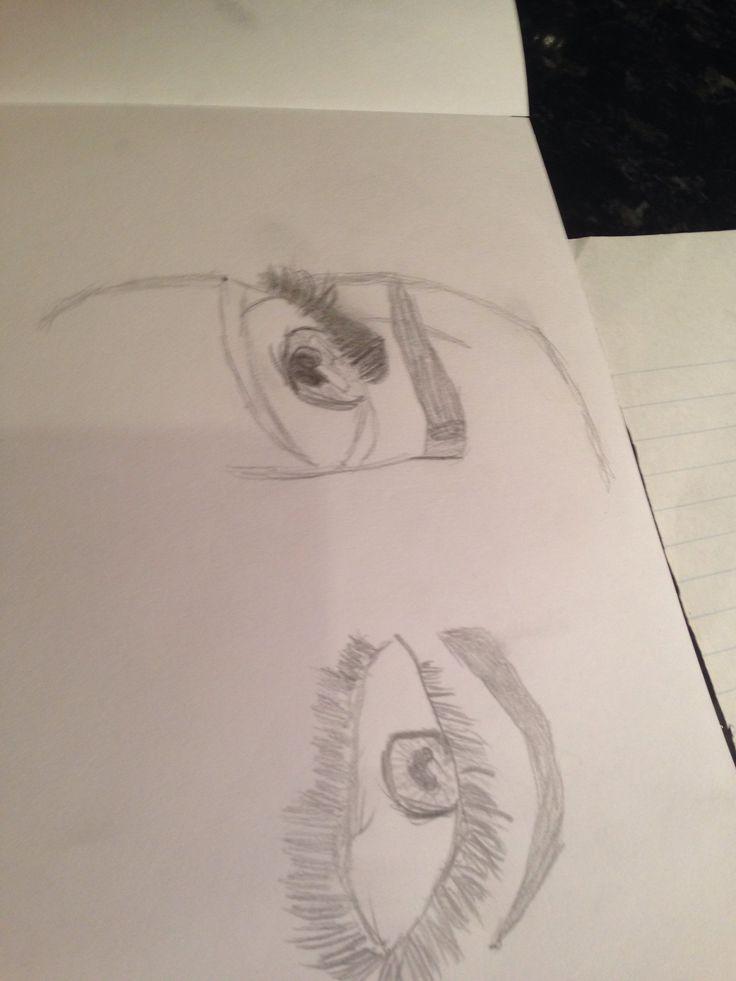 #elissias #eyes #fabulous #7yearolddrawings