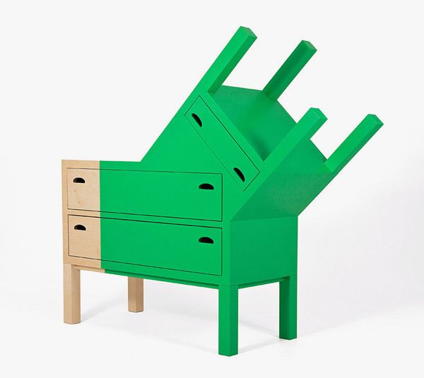 Furniture Inspired By Masks Of Mexico