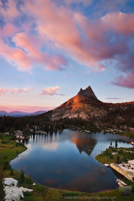 Upper Cathedral Lake - Yosemite National Park - California, USA