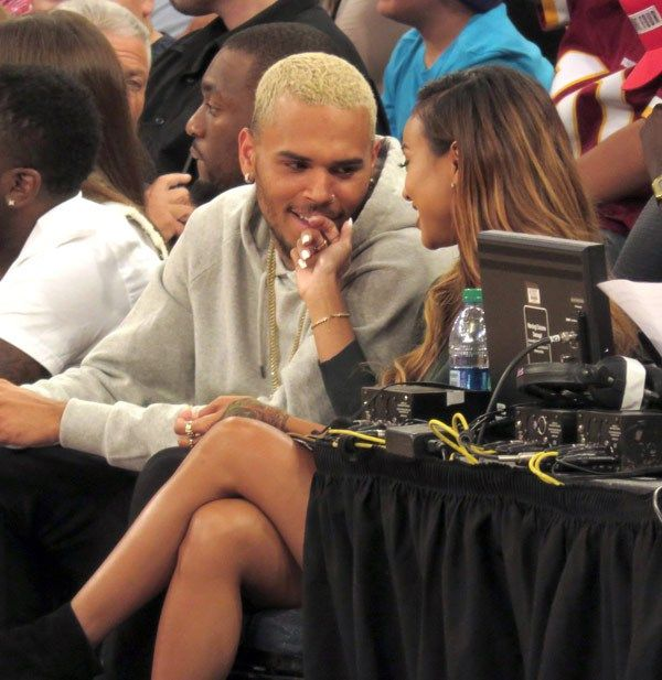 Chris Brown & Karrueche Tran — Pics