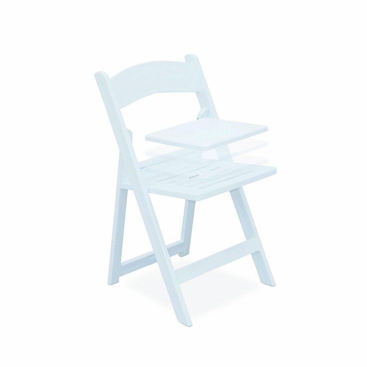 BELLA EVOLUTION Get the best of both worlds - two chairs for the price of one! Start with the Bella Slat, clip in a cushion and you have the Bella Evolution just like that! The Bella chair has become the chair of choice for many wedding planners and event organisers and now you don't have to choose between the sporty, easy to clean Bella Slat and the Bella with cushion for extra comfort.