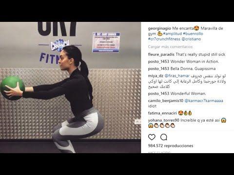 Georgina Rodríguez vuelve al gym tras dar a luz - LA TELE NOTICIAS