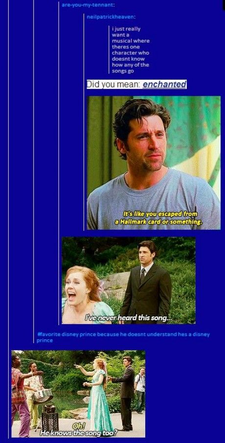 Sorry... Tangled wasn't the first Disney movie to point out random musical interruptions...
